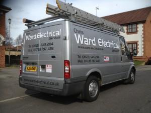 The Ward Electrical van