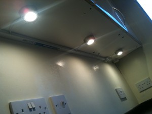 Under unit & Cabinet lighting