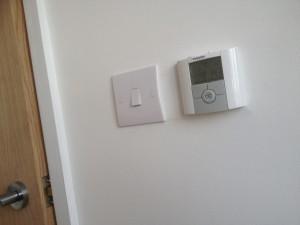 Switch & Under Floor Heating thermostat