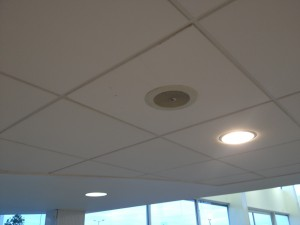 Commercial & retail sound system installation.