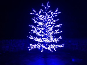 LED Christmas Tree - External sockets fitted!